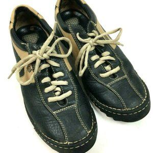 Born Men's Shoes 10 44 Oxfords Lace Up Casual Blac